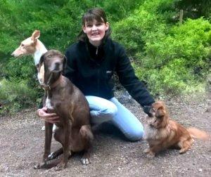 Foto der Hundetrainerin Jessika Dupont von der Hundeschule in Lahr